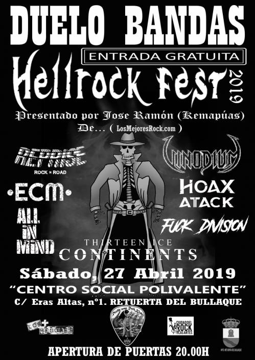 All iN Mind Duelo de Bandas Hellrock fest (Ciudad Real)