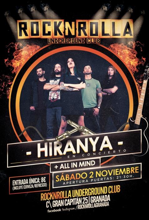 All iN Mind - Sala Rock&Rolla (Granada)